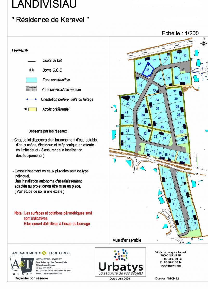 terrains en lotissement finist re 29 landivisiau n mld03022015. Black Bedroom Furniture Sets. Home Design Ideas